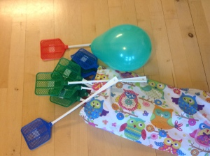 Fluesmækkere og ballon